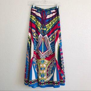 Flying Tomato Boho Maxi Skirt